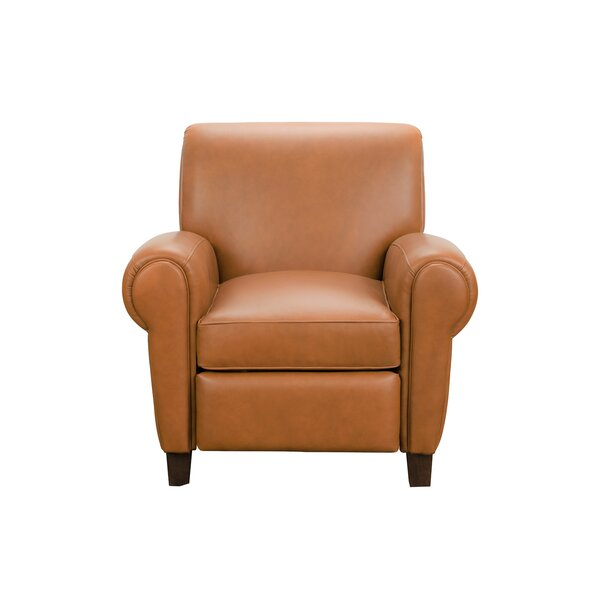 Ruhland Leather Manual Recliner By Canora Grey
