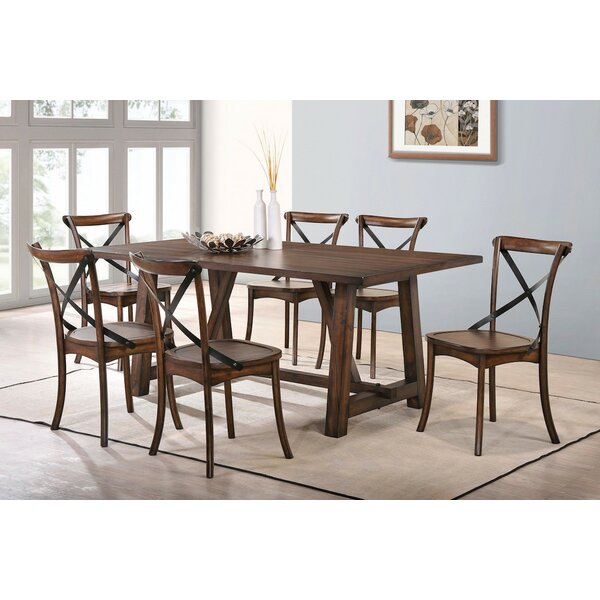 Amazing 7 Piece Dining Set By Infini Furnishings No Copoun