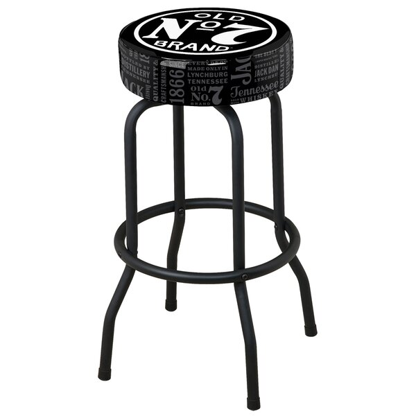 30 Swivel Bar Stool by Jack Daniel's Lifestyle Products