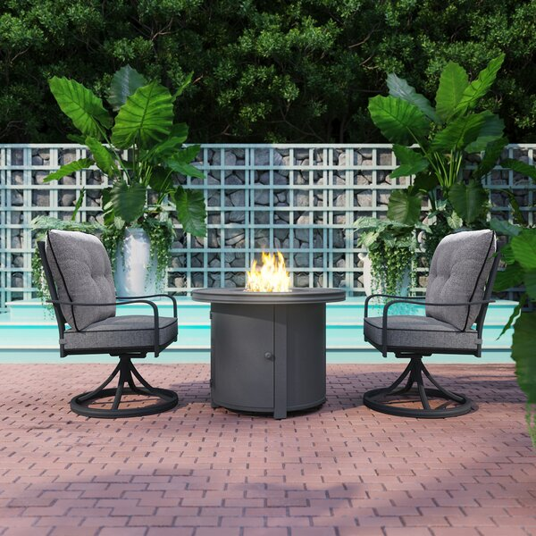 Thornfield 3 Piece Seating Group with Cushions