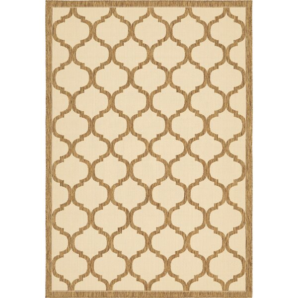 Stanwich Brown Indoor/Outdoor Area Rug by Charlton Home