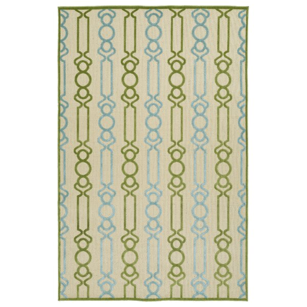 Domingues Green Indoor/Outdoor Area Rug by Ebern Designs