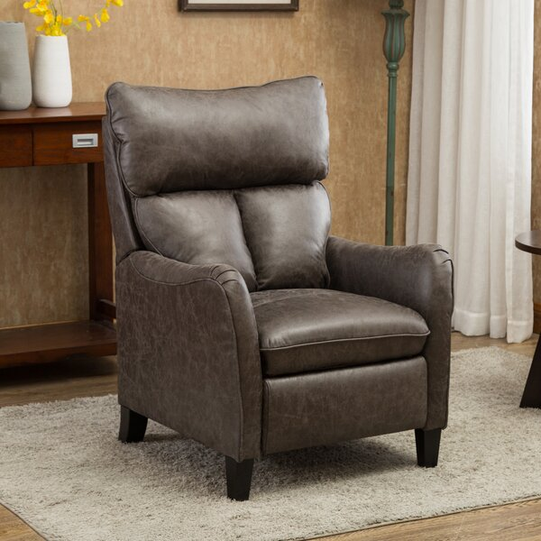 Amario Faux Leather Manual Recliner W003475662