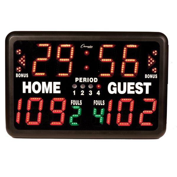 Multi-Sport Tabletop Indoor Electronic Scoreboard by Champion Sports