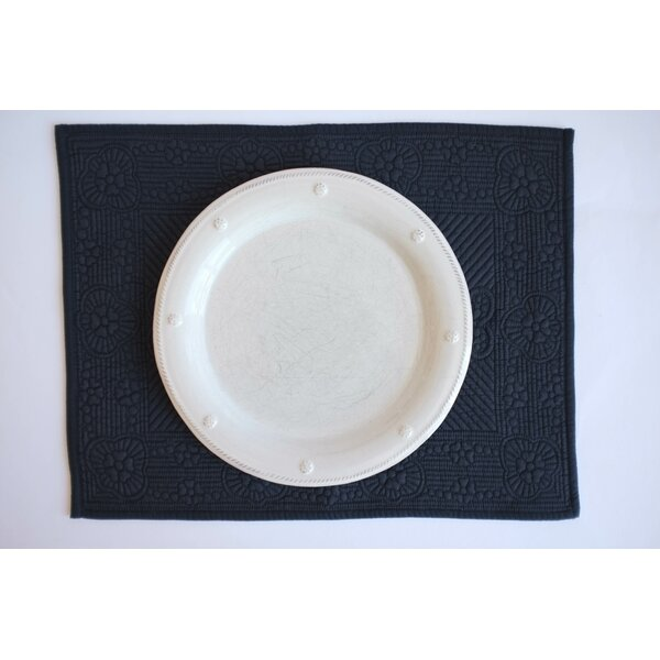 Kristine Quilted 14 Placemat (Set of 6) by Charlton Home
