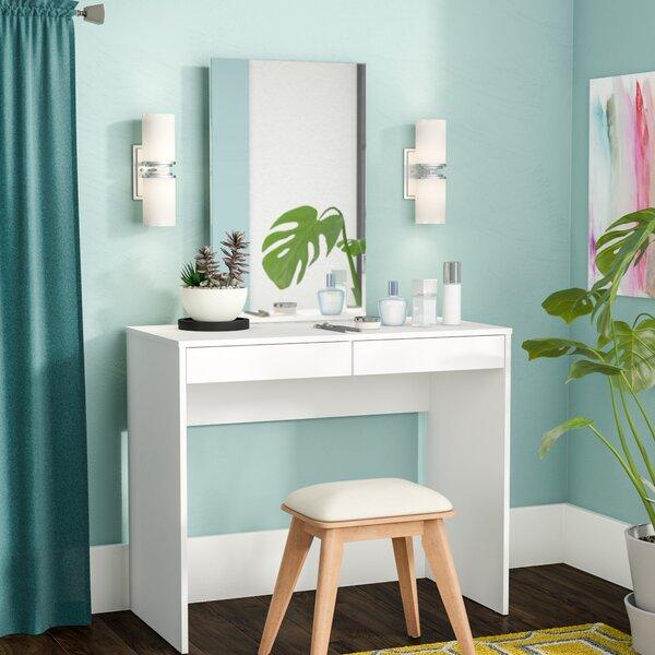 Kenzie Vanity with Mirror by Zipcode Design
