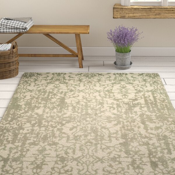 Ellicottville Hand-Tufted Gray Wool Area Rug by Ophelia & Co.