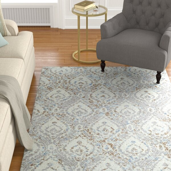 Gannaway Ivory Area Rug by Charlton Home