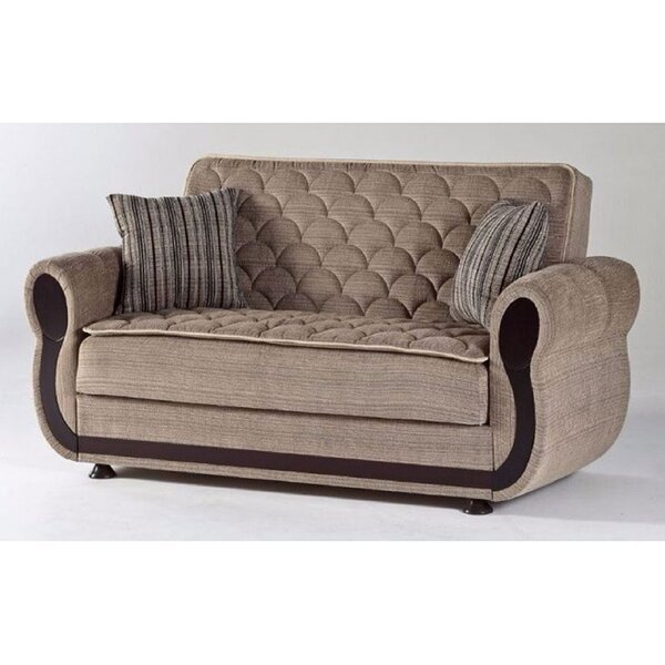 Schmid 67'' Rolled Arm Sleeper By Darby Home Co