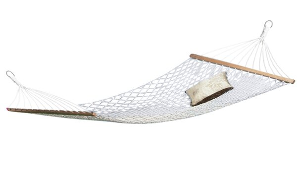 Jonell Rope Cotton Double Camping Hammock by Beachcrest Home
