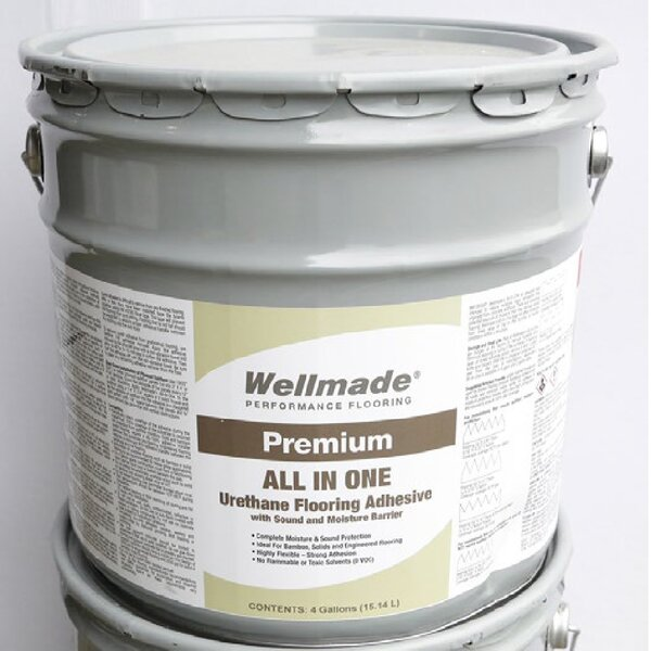 All-in-One Adhesive and Moisture Barrier by Islander Flooring