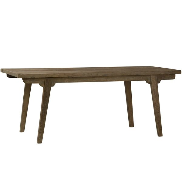 Ohman Solid Wood Dining Table by Union Rustic