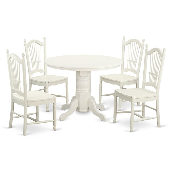 Sherlock 5 Piece Dining Set By August Grove New Design