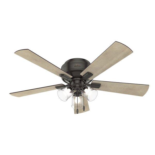 52 Crestfield 5 Blade LED Ceiling Fan by Hunter Fa