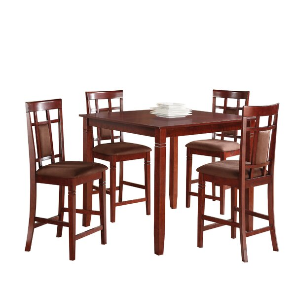 Benders 5 Piece Counter Height Dining Set by Red Barrel Studio Red Barrel Studio
