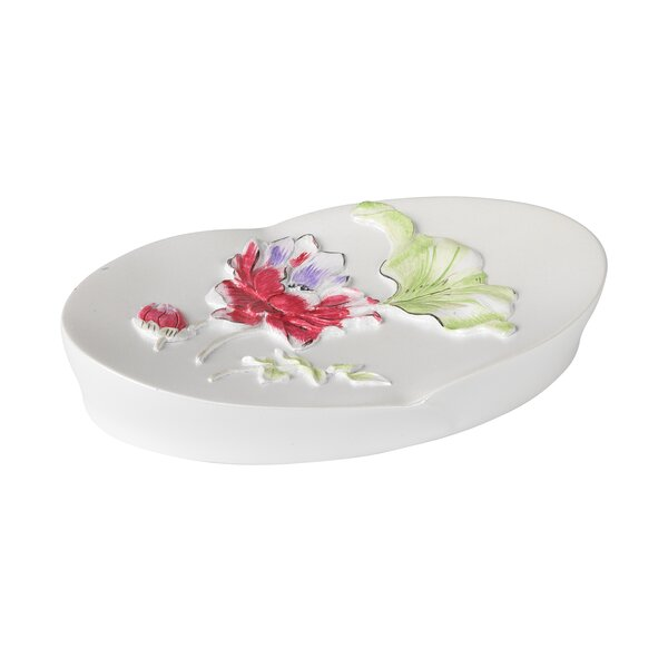 Flower Haven Soap Dish by Popular Bath