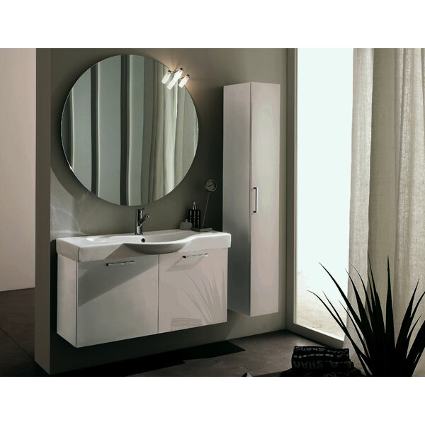 9.8 W x 63.5 H Wall Mounted Cabinet by Acquaviva