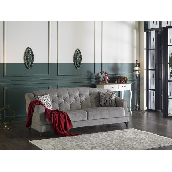 New Design Carpentier 3 Seat Sleeper Sofa by Darby Home Co by Darby Home Co
