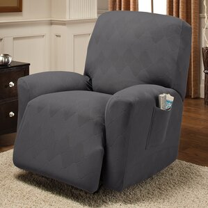 Madden Box Cushion Recliner Slipcover & Recliner Slipcovers Youu0027ll Love | Wayfair islam-shia.org