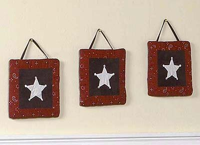 3 Piece Wild West Cowboy Wall Hanging Set by Sweet Jojo Designs