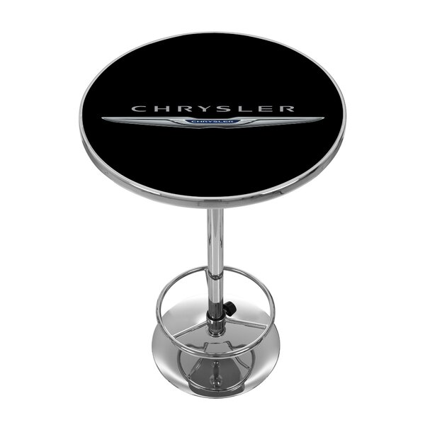 Chrysler Pub Table by Trademark Global