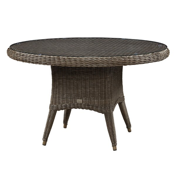 Sawyerville Glass Dining Table by Wildon Home®
