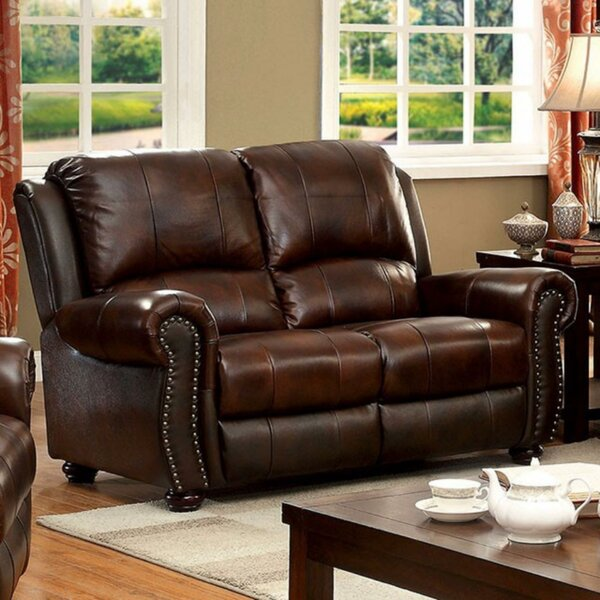 Top Brand Bagshaw Leather Loveseat Surprise! 60% Off