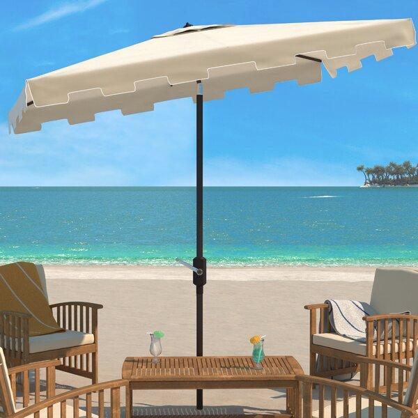 Towerside 6.5 X 10 Ft Rect Market Umbrella by Breakwater Bay