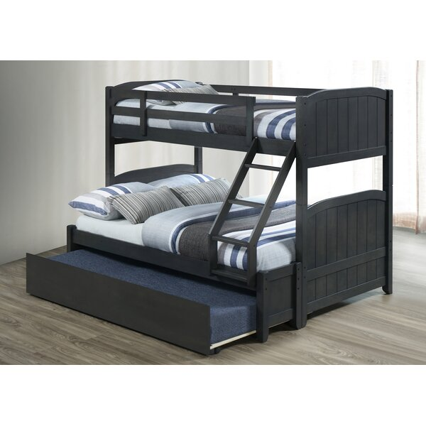 Carytown Twin Over Full Bunk Bed with Trundle by Harriet Bee