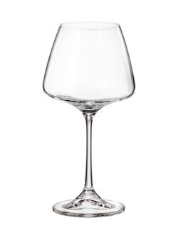 Canvey Crystal 11.8 oz. Wine Glass (Set of 6) by Canora Grey