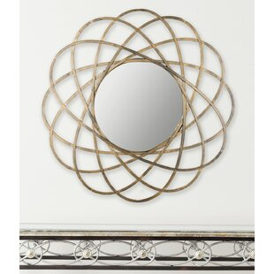 Willa Arlo Interiors Aram Gold Metal Wall Mirror