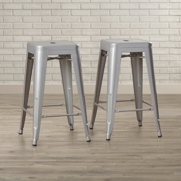 Louisa 26.5 Bar Stool (Set of 2) by Zipcode Design