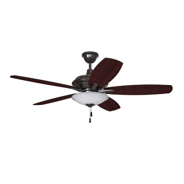 52 Sabb 5 Blade LED Ceiling Fan by Charlton Home