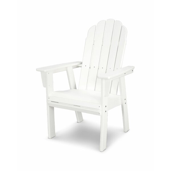 Vineyard Plastic Adirondack Patio Dining Chair by POLYWOOD®