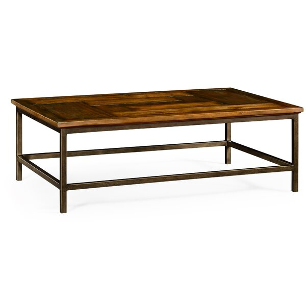 Country Walnut Rectangular Coffee Table by Jonathan Charles Fine Furniture Jonathan Charles Fine Furniture