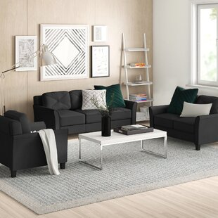 Wistow 3 Piece Living Room Set by Zipcode Design™