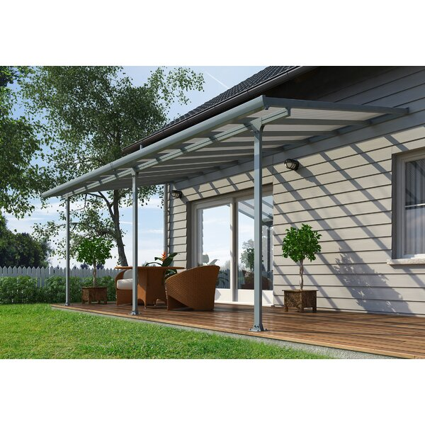 Feria™ 20 ft. W x 9.5 ft. D Patio Awning by Palram