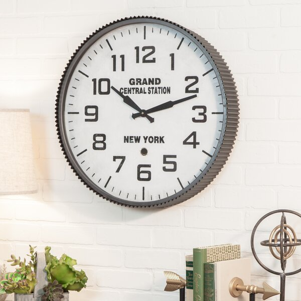 23 Grand Central Station Wall Clock by Aspire