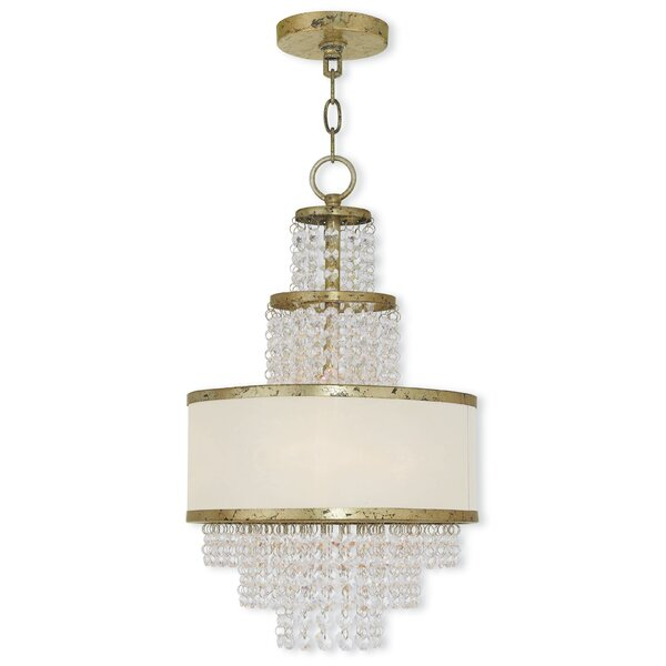 Ruggles 3-Light Chandelier By House Of Hampton