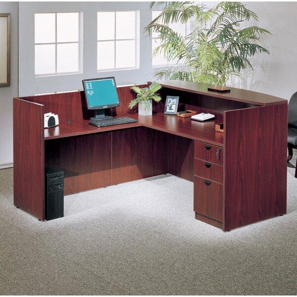 3 Piece L-Shape Desk Office Suite by Symple Stuff