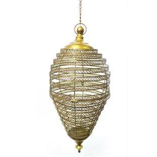 Find for Mebane Enchanting Hanging Metal Lantern By Bloomsbury Market