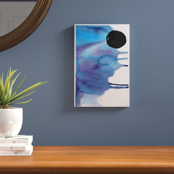 Hiver Painting Print on Wrapped Canvas by Langley Street