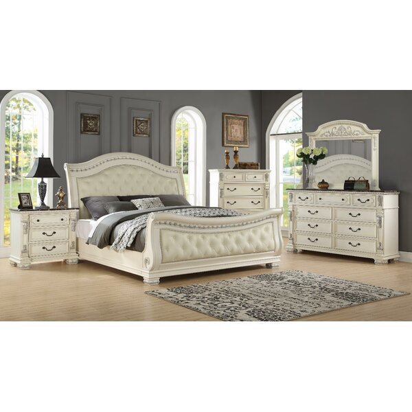 Alexandra Sleigh Configurable Bedroom Set by Fairfax Home Collections