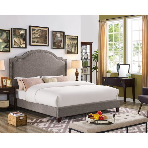 Ackermann Upholstered Platform Bed by Darby Home Co