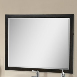 Latitude Run Larabee Rectangle Beveled Edged Wall Mirror