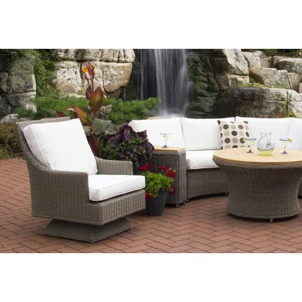 Cayman Islands Patio Chair with Cushion by Padmas Plantation