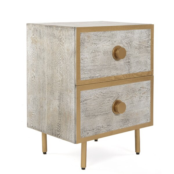 Andino 2 Drawer Nightstand by Brayden Studio