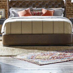 Devere Queen Upholstered Footboard by Darby Home Co