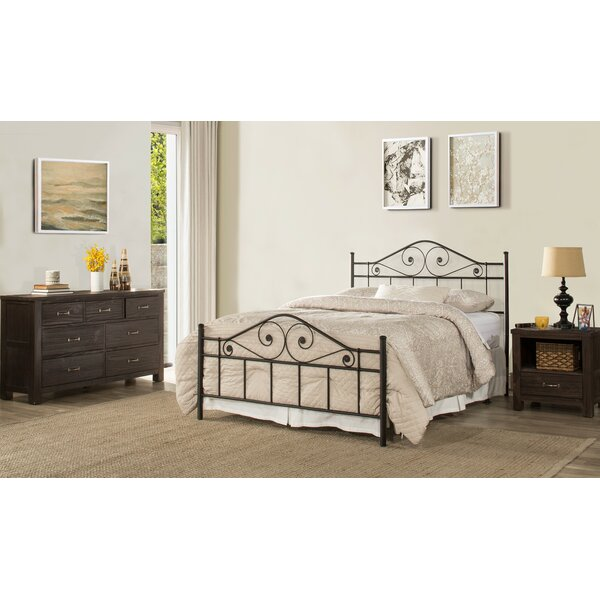 Arnot Standard Bed by Alcott Hill