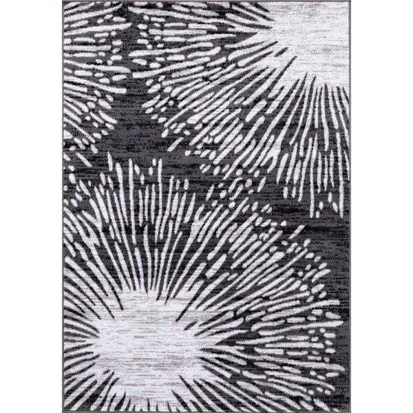 Eells Gray Area Rug by Orren Ellis